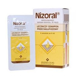 Nizoral - szampon leczniczy * 6 saszetek