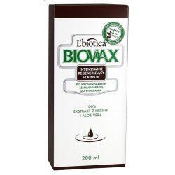 Biovax szampon intens. regenerujący do włosów słabych 200 ml