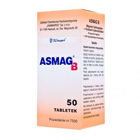 Asmag B * 50 tabl