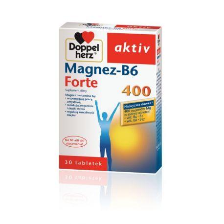 Doppelherz Aktiv * Magnez B 6 forte 400 * 30 tabl