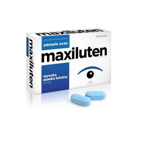 Maxiluten * 30 tabletek