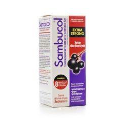 Sambucol Extra Strong * syrop dla dorosłych *  do120ml