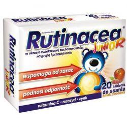 Rutinacea Junior - tabletki do ssania * 20 szt
