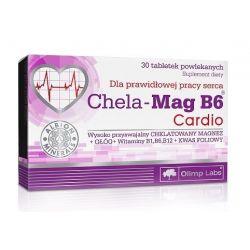 Olimp Chela - Mag B6 Cardio * 30 kaps