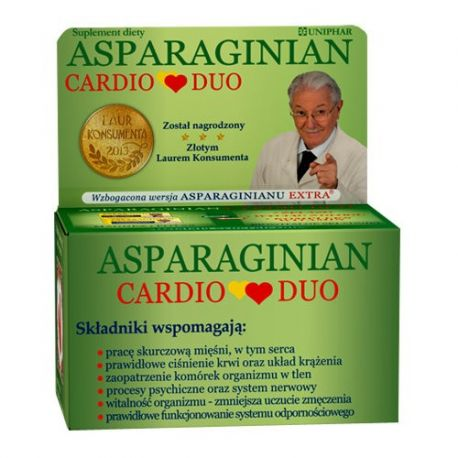 Asparginian Cardio - Duo * 50 tabletek