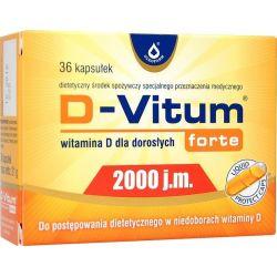 D-Vitum Forte 2000 * 36 kaps