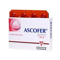 Ascofer 0,2 g * 50 tabl