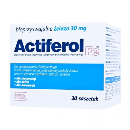 Actiferol - 30 mg * 30 sasz