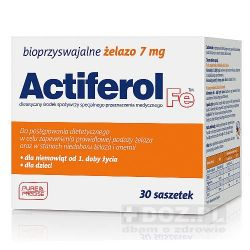 Actiferol Fe - 7mg * 30 sasz
