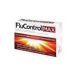 FluControl Max * 650 mg+10 mg+4 mg * 10 tabletek powlekanych