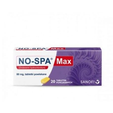 No- Spa Max  80 mg * 20 tabl