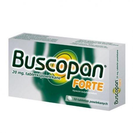 Buscopan Forte * 10 tabletek