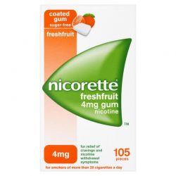 Nicorette FreshFruit Gum 4 mg * 105 szt