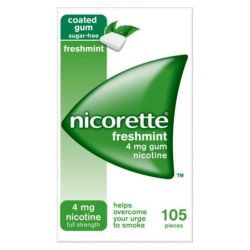 Nicorette FreshMint Gum 4 mg * 105 szt