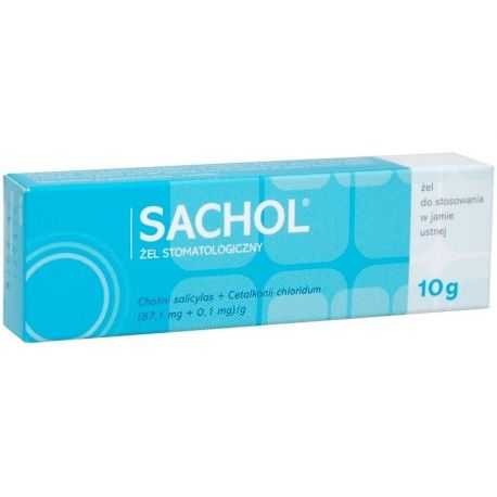 Sachol - żel stomatologiczny * 10 g