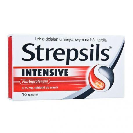Strepsils Intensive * tabletki do ssania * 16 szt