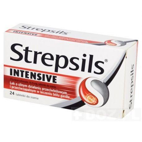 Strepsils Intensive * tabletki do ssania * 24 szt