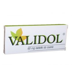 Validol - tabletki do ssania 60 mg * 10 szt