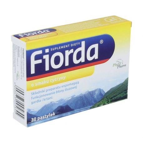 Fiorda - o smaku cytrynowym * 30 pastylek