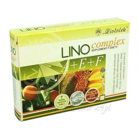 Linocomlex A + E + F * 60 kapsułek