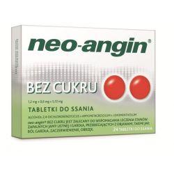 Neo - Angin bez cukru * 24 pastylki