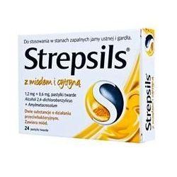 Strepsils * z miodem i z cytryną * 24 szt