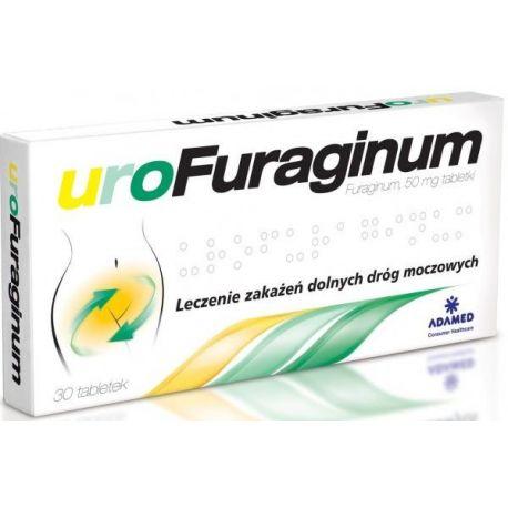 Urofuraginum 50 mg * 30 tabletek