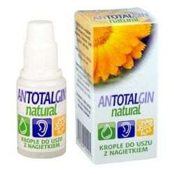 Antotalgin Natural - krople do uszu * 15 g