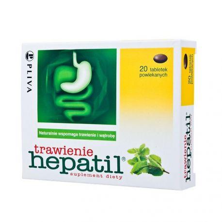 Hepatil - Trawienie * 20 szt
