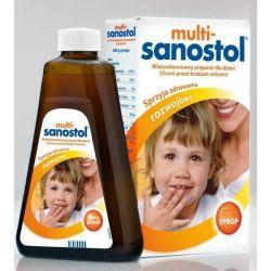 Multi Sanostol - syrop witaminowy * 600 g