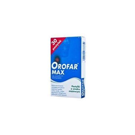 Orofar Max * 30 pastylek