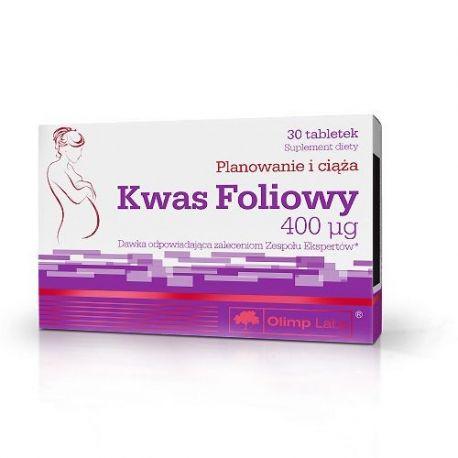 Olimp Kwas Foliowy - 400 mcg * 30 tabletek