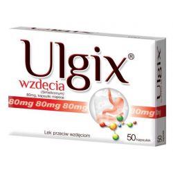 Ulgix - Wzdęcia 80 mg * 50 tabl