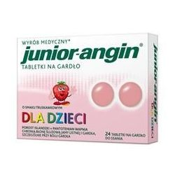 Junior - Angin * 24 pastylki do ssania