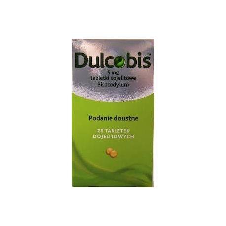 Dulcobis 5 mg * 20 tabl