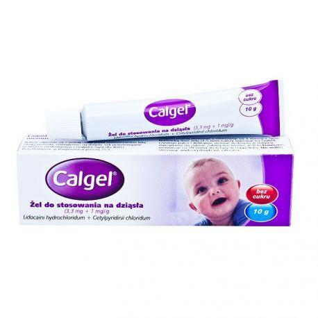 Calgel - żel na dziąsła * 10 g