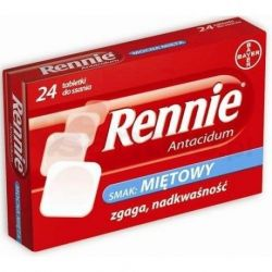 Rennie Antacidum * 24 tabl. do ssania