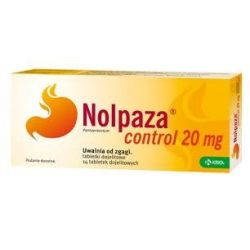 Nolpaza Control 20 mg * 14 tabl