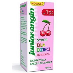 Junior - Angin * syrop dla dzieci * 100 ml