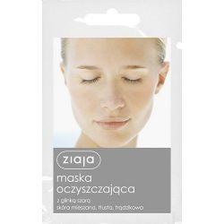 Ziaja - Maska oczyszczająca * z glinką szarą * 7 ml