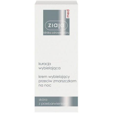 Ziaja - Med * Krem wybielający - na noc * 50 ml