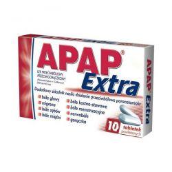 Apap extra * 10 tabletek