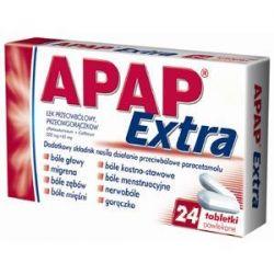 Apap extra * 24 tabletki