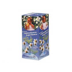 Herbapol * Herbatka fix rumiankowo-koperkowa * 20 saszetek
