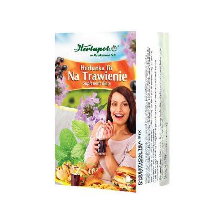 Herbapol * Herbatka fix - Na trawienie * 20 saszetek