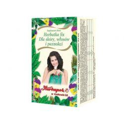 Herbapol * Herbatka - dla skóry, włosów i paznokci * 20 saszetek