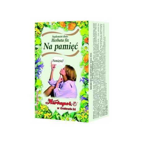 Herbapol * Herbatka fix * Na pamięć * 20 saszetek