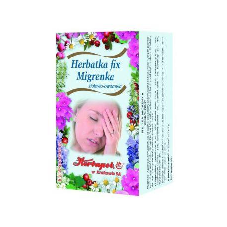 Herbapol * Herbatka fix - Migrenka * 20 saszetek