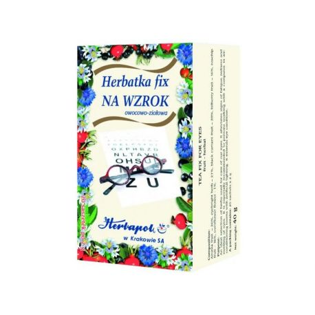 Herbapol * Herbatka fix- Na wzrok * 20 saszetek