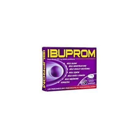 Ibuprom - 0,2 g * 10 tabletek